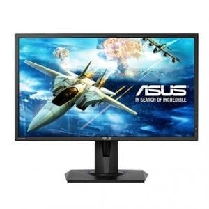 Asus VG245H 24 inch Widescreen 100,000,000:1 1ms VGA/2HDMI LED LCD Monitor, w/ Speakers (Black)