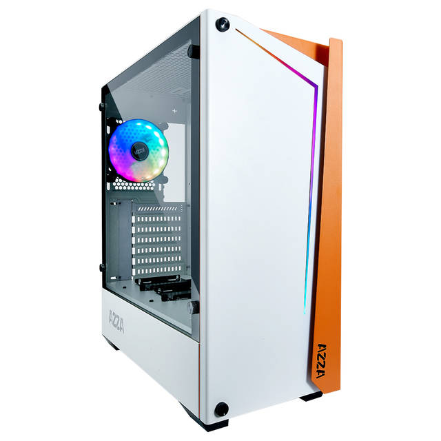 AZZA APOLLO 430 CSAZ-430W-DF1 White ATX Mid Tower Computer Case