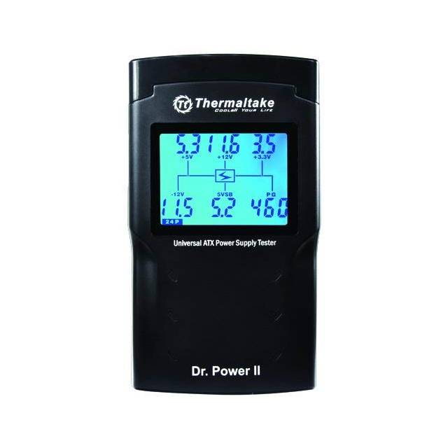 Thermaltake AC0015 Dr. Power II Automated Power Supply Tester Oversized LCD for All Power Supplies