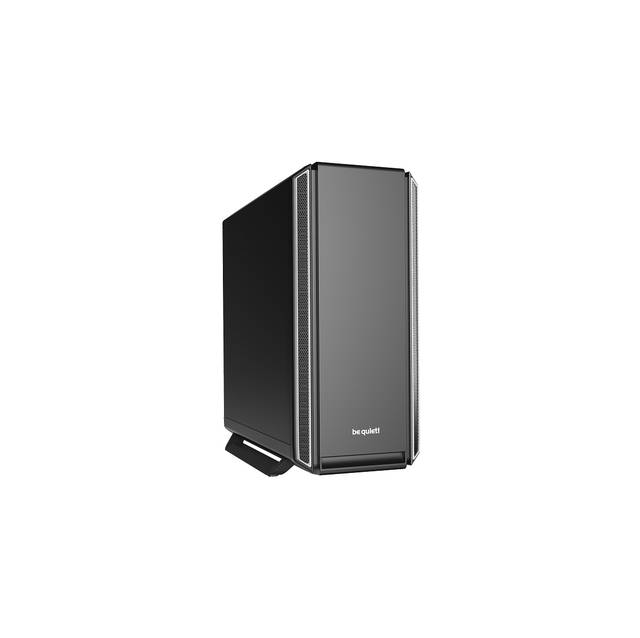 be quiet! Silent Base 801 SILVER Mid-Tower ATX Computer Case, Two 140mm Fans, 10mm Extra Thick insulation mats (BG030)